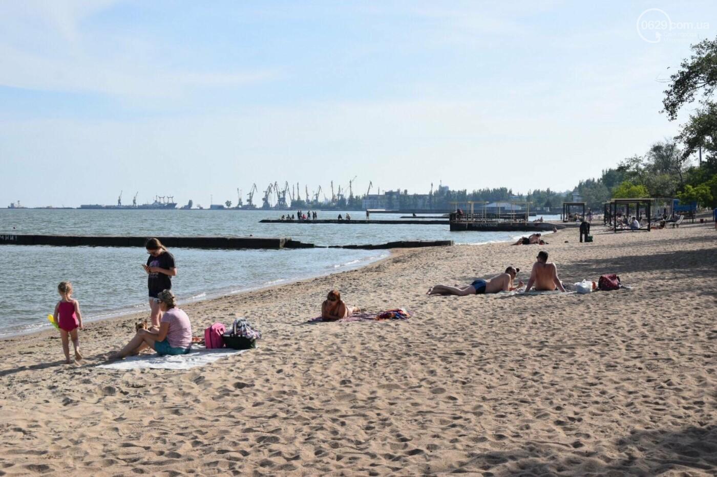 В Мариуполе открылся пляжный сезон, - ФОТОРЕПОРТАЖ, фото-25