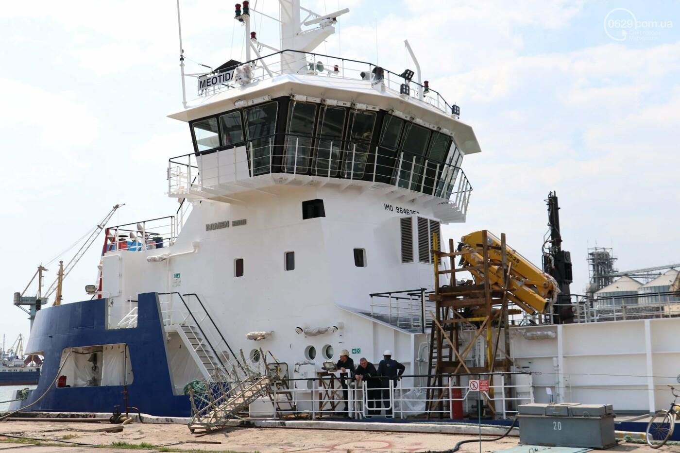 В порту Мариуполь начали углублять дно, - ФОТО, фото-2