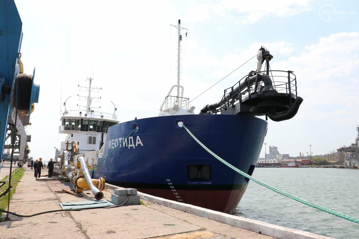 В порту Мариуполь начали углублять дно, - ФОТО, фото-5