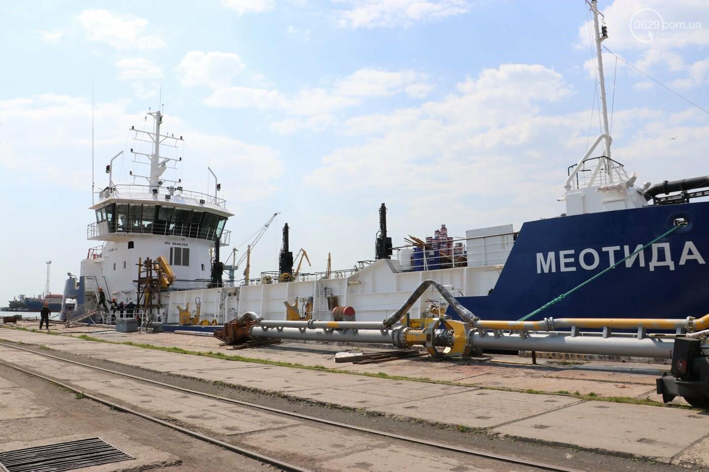 В порту Мариуполь начали углублять дно, - ФОТО, фото-3