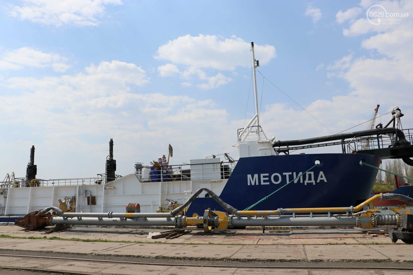 В порту Мариуполь начали углублять дно, - ФОТО, фото-4