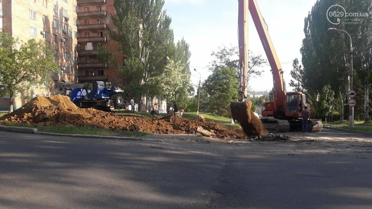 В Мариуполе из-за ремонтных работ перекрыта ул. Карпинского, - Фотофакт, фото-2