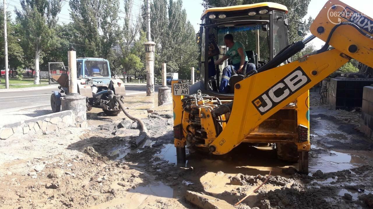 В Мариуполе питьевая вода затопила площадь Кирова, - ФОТО, фото-8