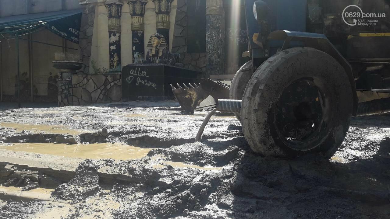 В Мариуполе питьевая вода затопила площадь Кирова, - ФОТО, фото-9
