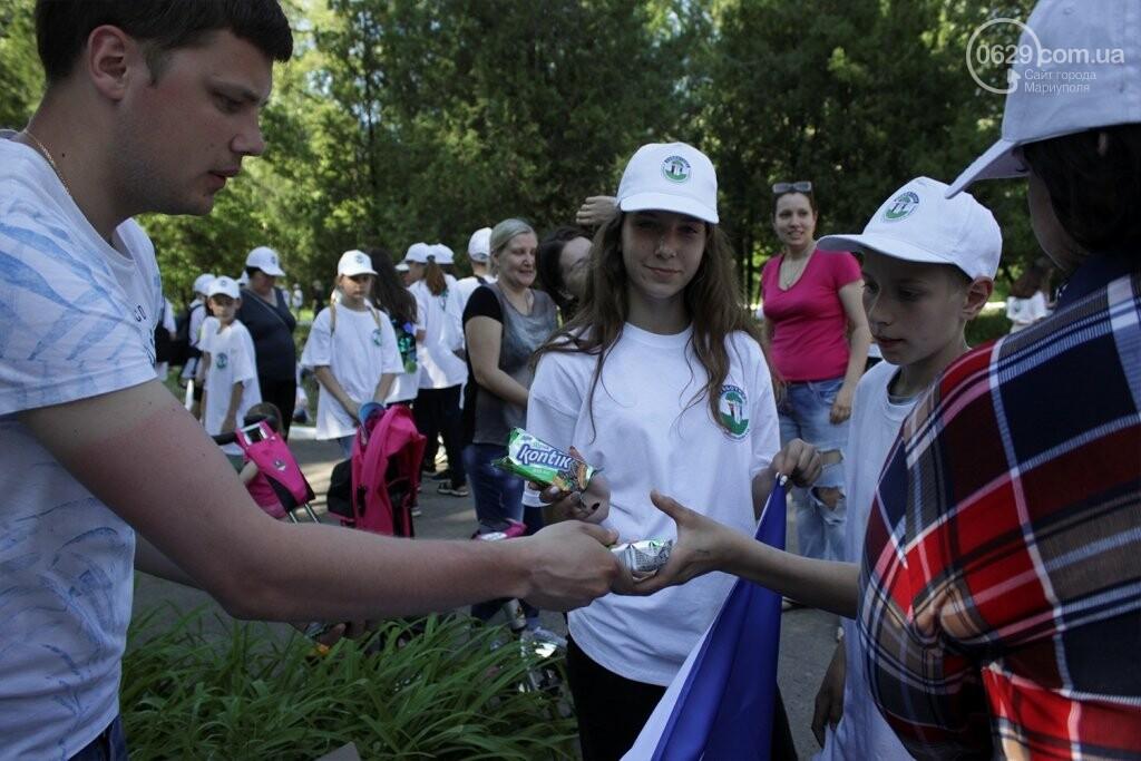 Высаженные аллеи и аккуратный парк: на Донбассе отметили День Европы субботником, фото-1