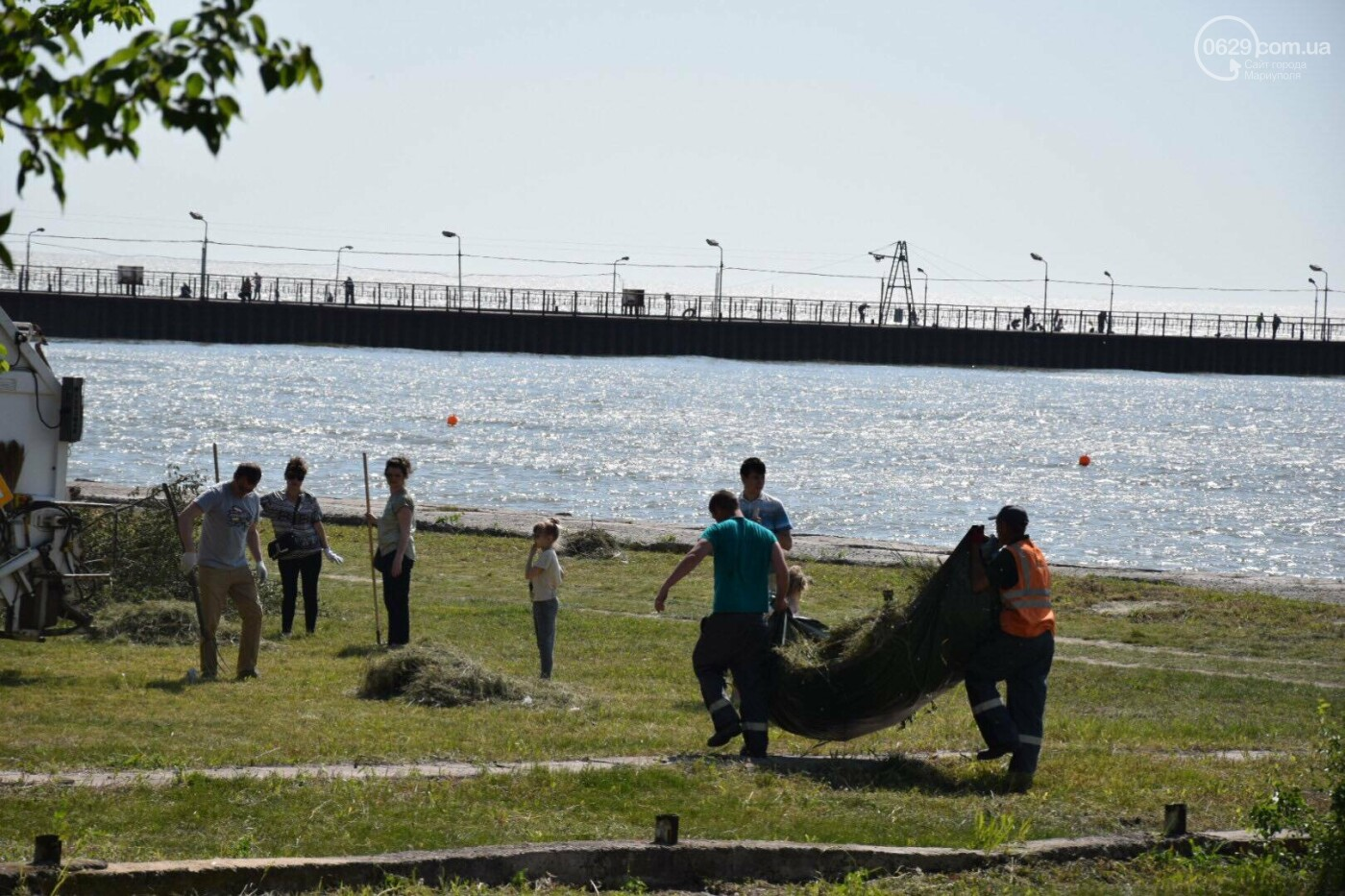 Мариупольцы устроили толоку возле моря, - ФОТО, ВИДЕО, фото-7