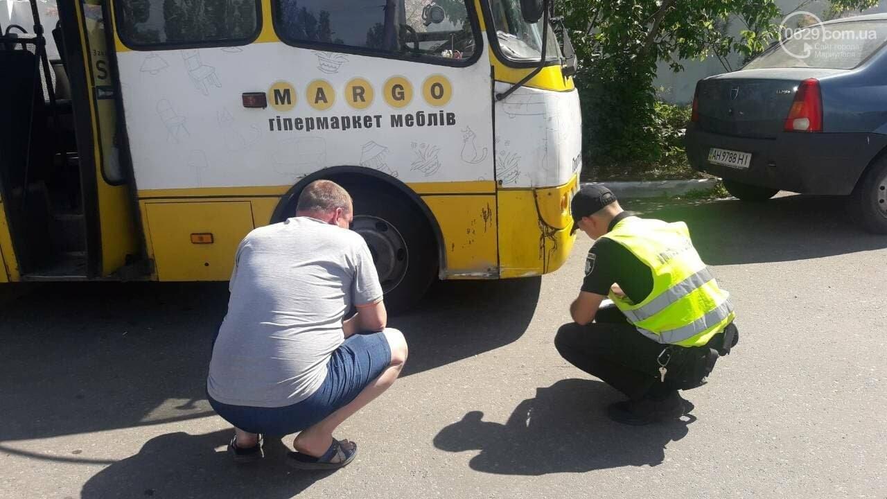 В Мариуполе на Набережной маршрутка попала в ДТП, - ФОТО, фото-4