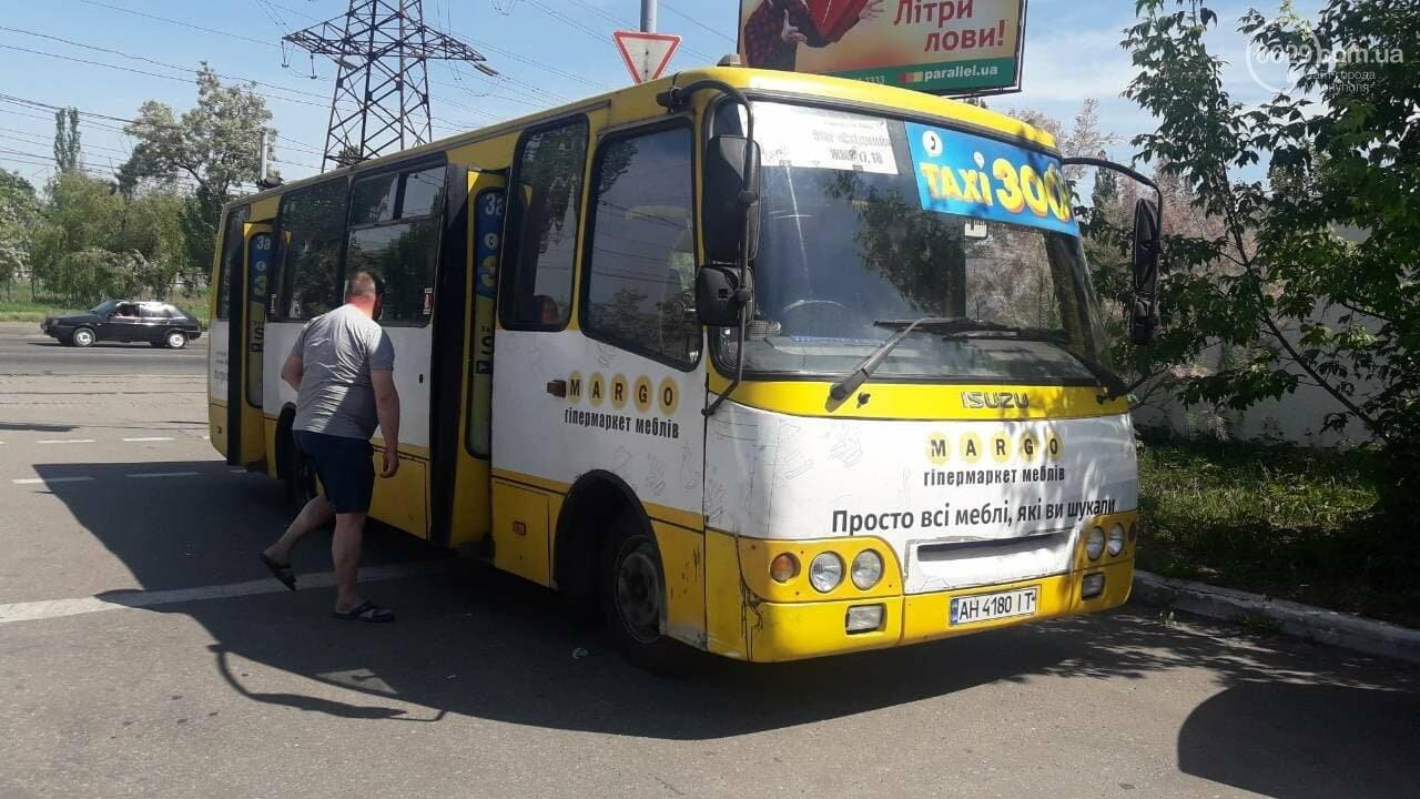 В Мариуполе на Набережной маршрутка попала в ДТП, - ФОТО, фото-1