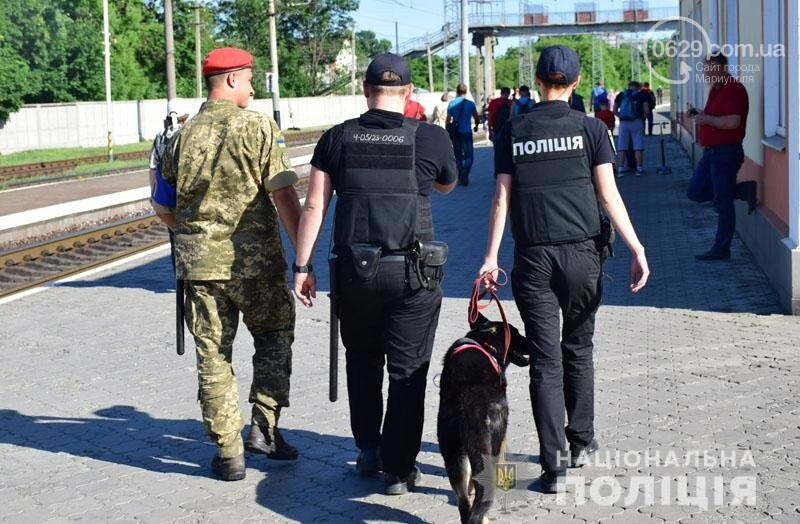 Полиция с собаками проверит поезда Донецкой области,- ФОТО, фото-2