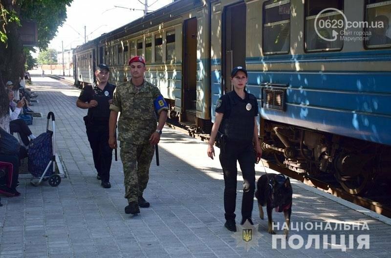 Полиция с собаками проверит поезда Донецкой области,- ФОТО, фото-1