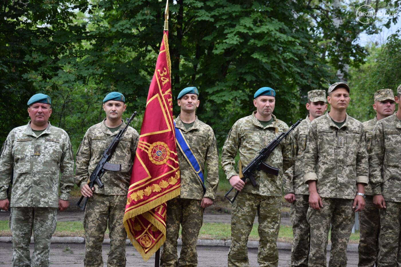 В Мариуполе морпехи присягнули на верность Украине и получили боевое знамя, - ФОТОРЕПОРТАЖ, фото-1
