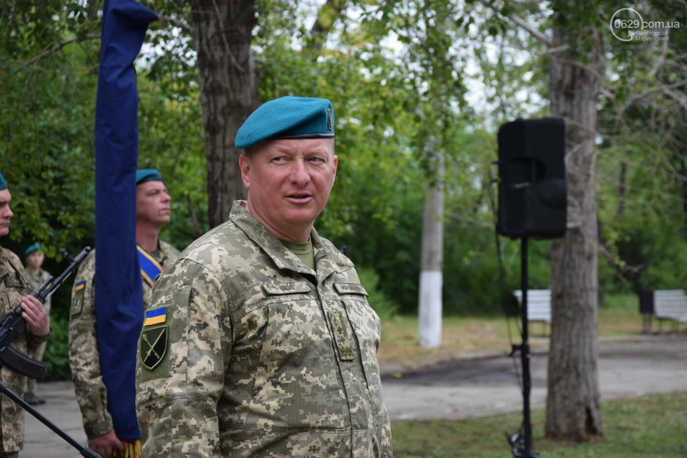 В Мариуполе морпехи присягнули на верность Украине и получили боевое знамя, - ФОТОРЕПОРТАЖ, фото-6