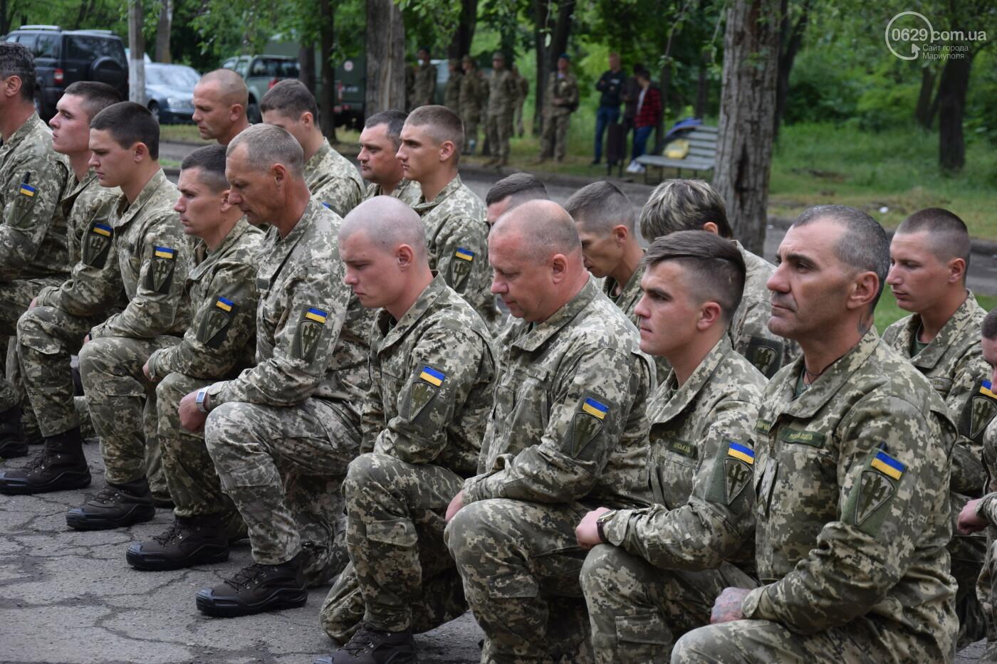 В Мариуполе морпехи присягнули на верность Украине и получили боевое знамя, - ФОТОРЕПОРТАЖ, фото-10
