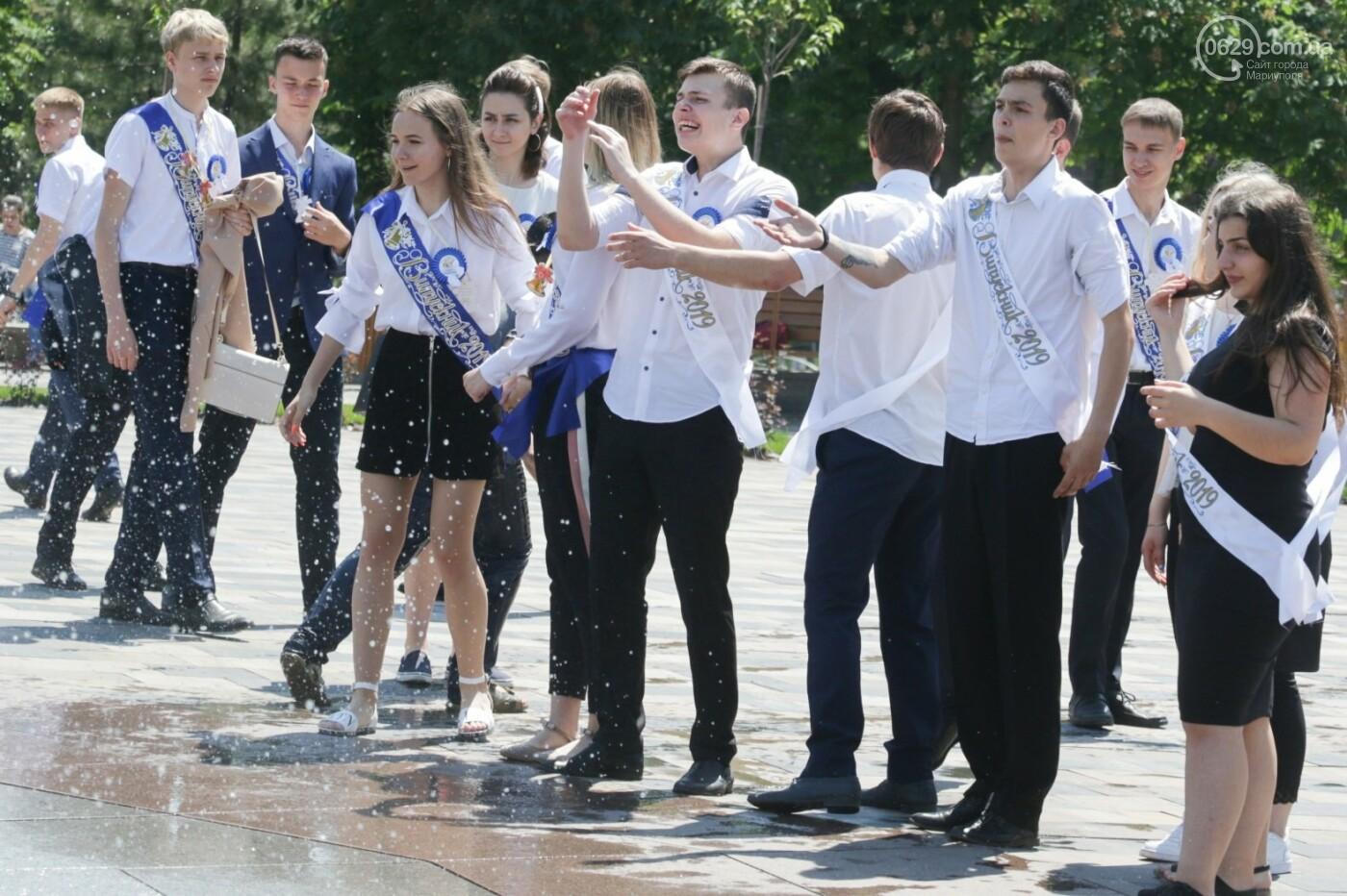 Как мариупольские школьники у десантников фонтаны отбирали, - ФОТОРЕПОРТАЖ, фото-4