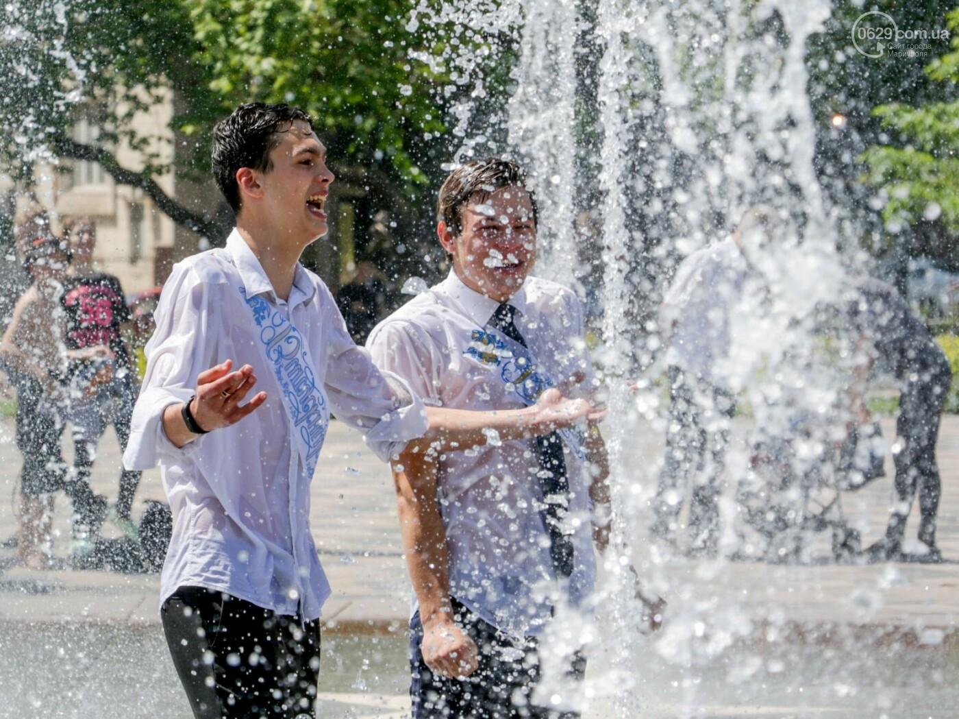 Как мариупольские школьники у десантников фонтаны отбирали, - ФОТОРЕПОРТАЖ, фото-7