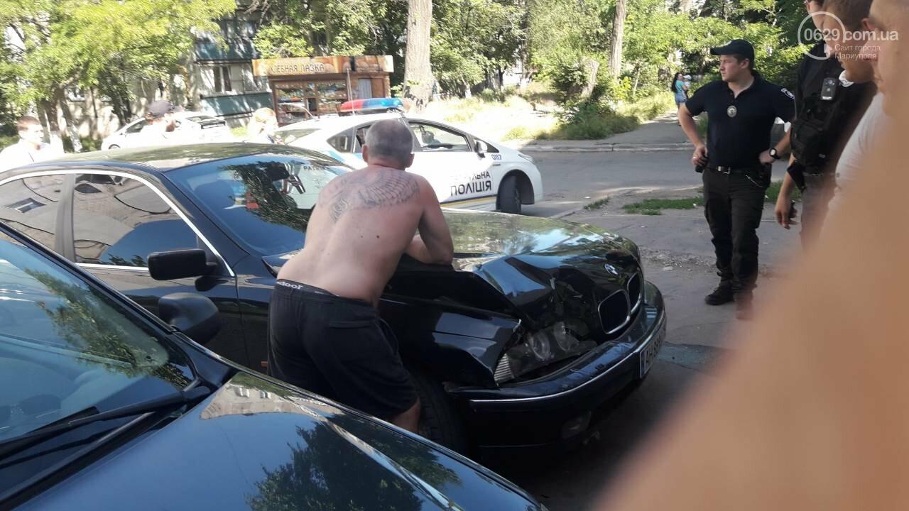 Снова пьяный за рулем! В Мариуполе невменяемый водитель BMW устроил аварию, - ФОТО, фото-1