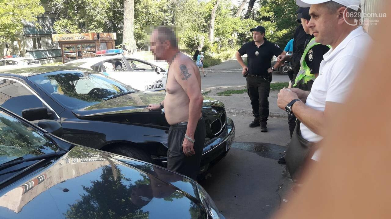 Снова пьяный за рулем! В Мариуполе невменяемый водитель BMW устроил аварию, - ФОТО, фото-7