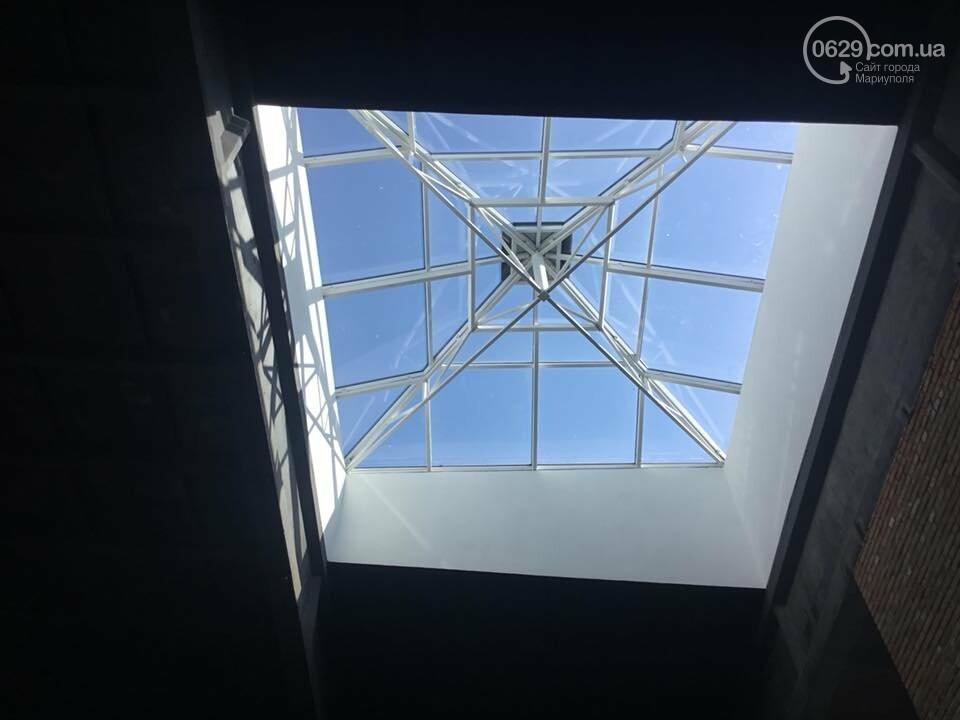 В Мариуполе мультицентр на Левобережье строят в две смены,- ФОТО, ВИДЕО, фото-8