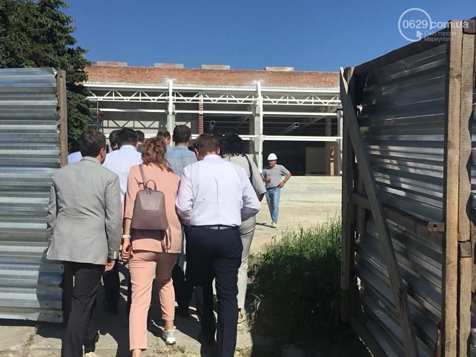 В Мариуполе мультицентр на Левобережье строят в две смены,- ФОТО, ВИДЕО, фото-11