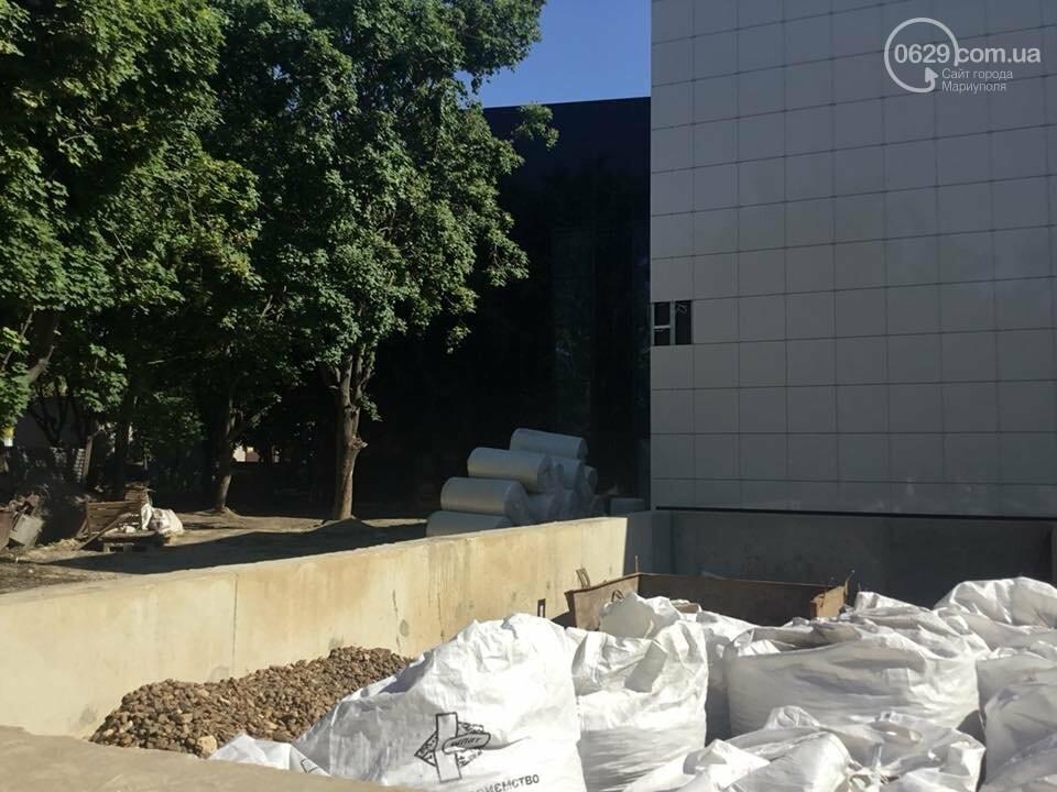 В Мариуполе мультицентр на Левобережье строят в две смены,- ФОТО, ВИДЕО, фото-2