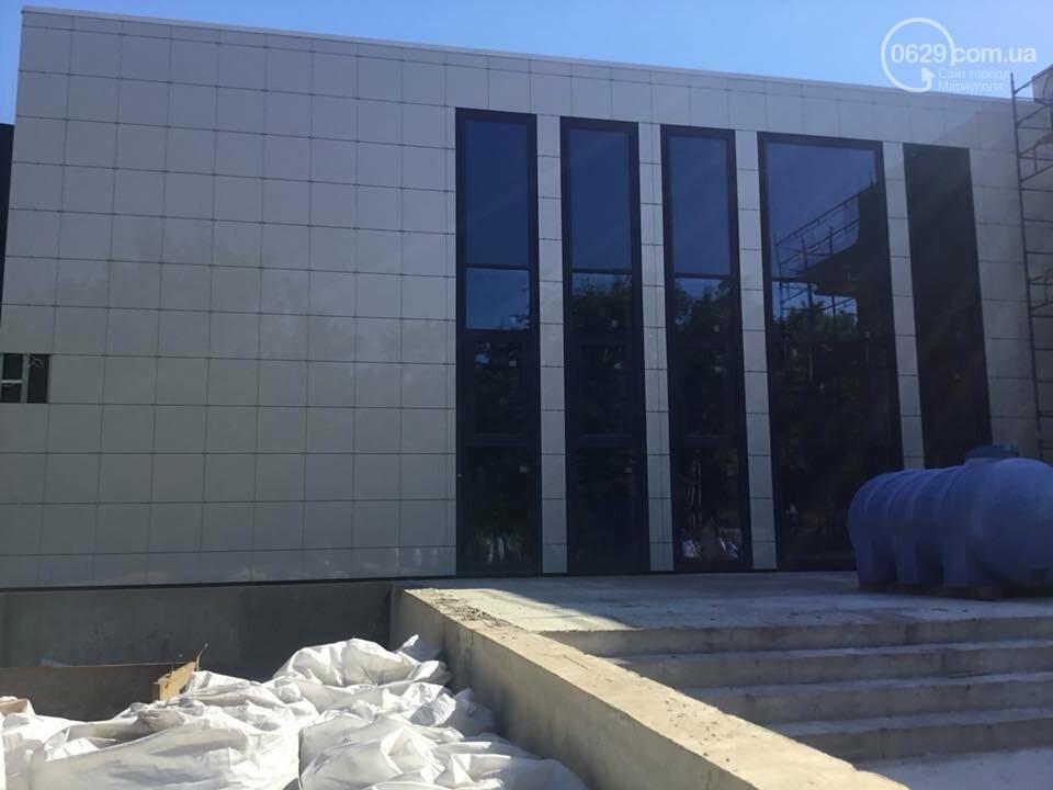 В Мариуполе мультицентр на Левобережье строят в две смены,- ФОТО, ВИДЕО, фото-1