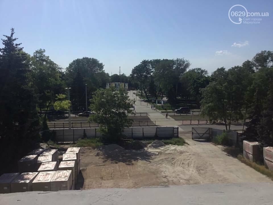 В Мариуполе мультицентр на Левобережье строят в две смены,- ФОТО, ВИДЕО, фото-5