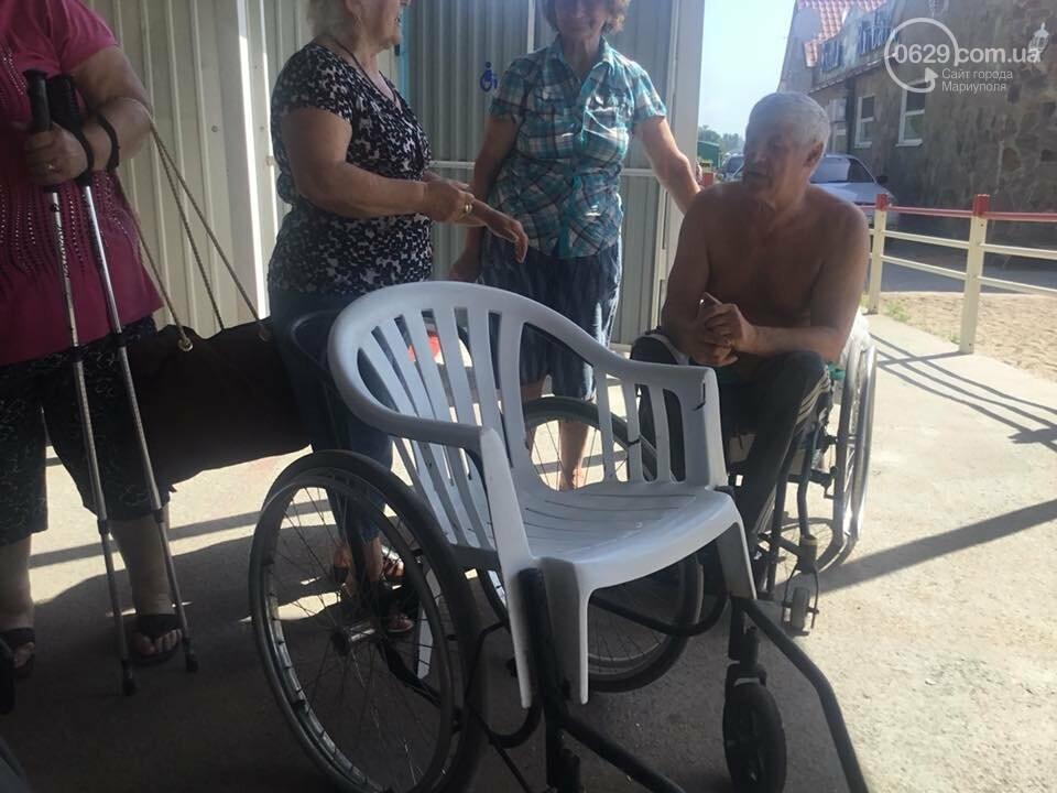 В Мариуполе открылся пляж для  людей с инвалидностью,- ФОТО, ВИДЕО, фото-4