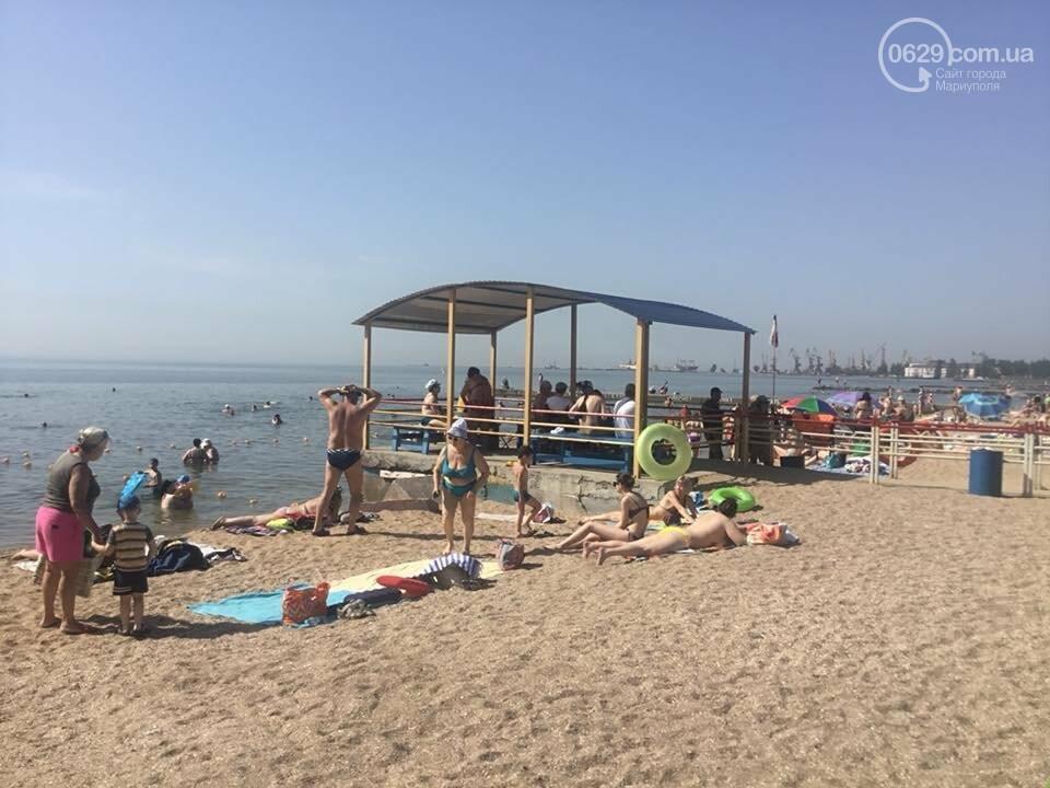 В Мариуполе открылся пляж для  людей с инвалидностью,- ФОТО, ВИДЕО, фото-3