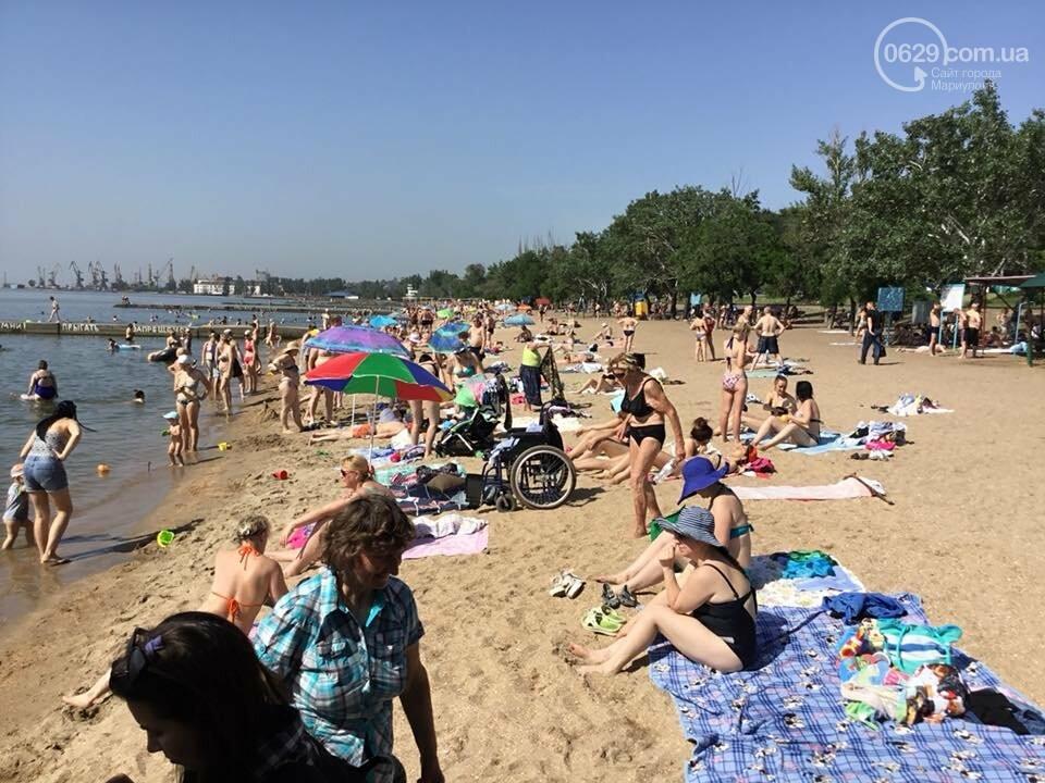 В Мариуполе открылся пляж для  людей с инвалидностью,- ФОТО, ВИДЕО, фото-8