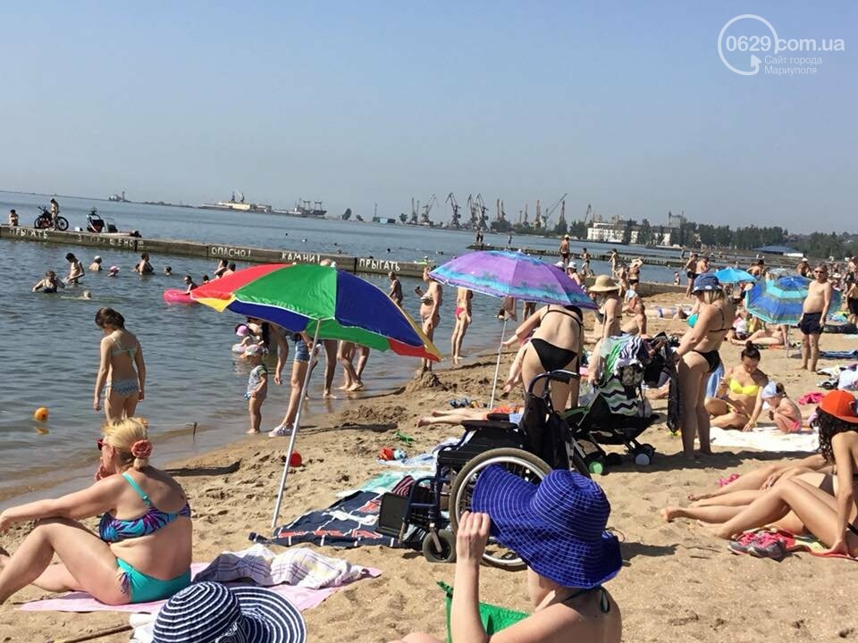 В Мариуполе открылся пляж для  людей с инвалидностью,- ФОТО, ВИДЕО, фото-5