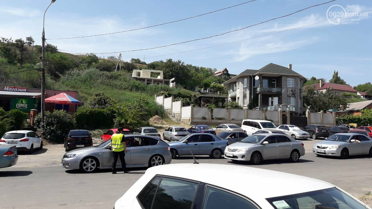В Мариуполе ограничили въезд на Песчаный пляж, - ФОТО, фото-6