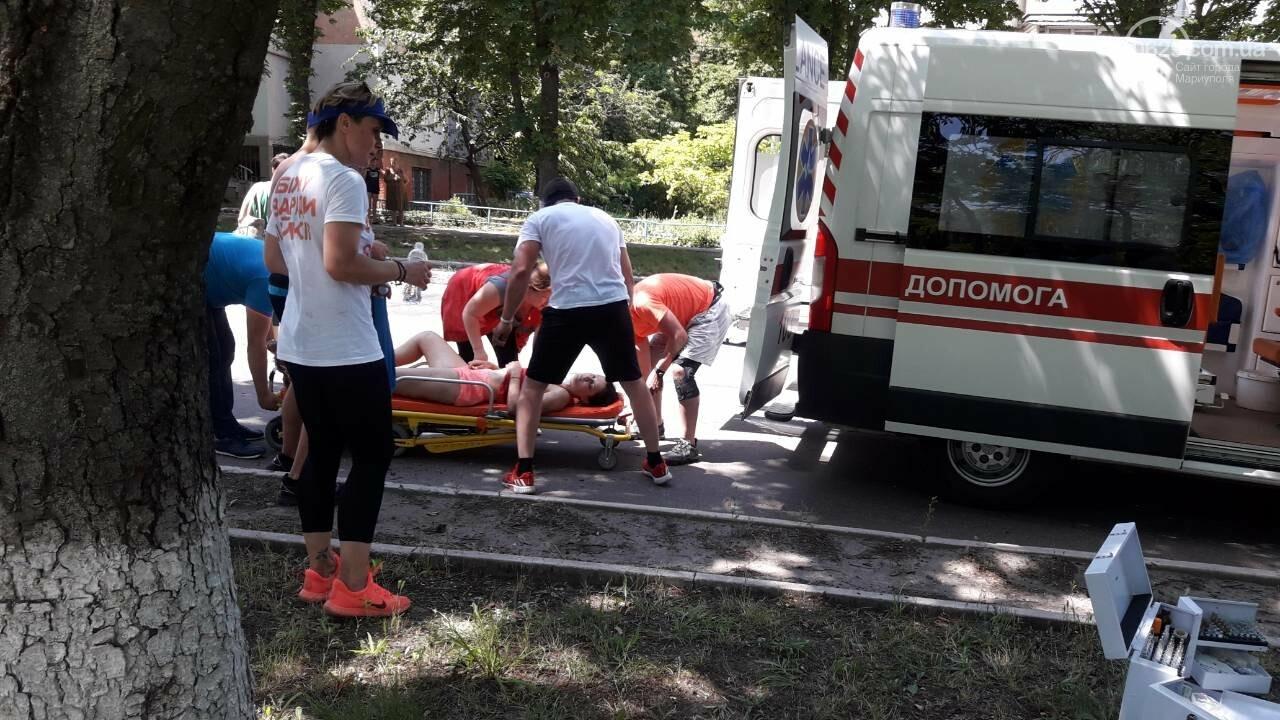 В Мариуполе участницу массового забега увезли в больницу, - ФОТО, ВИДЕО, фото-5