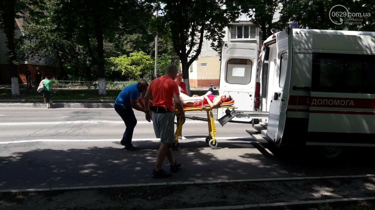В Мариуполе участницу массового забега увезли в больницу, - ФОТО, ВИДЕО, фото-4