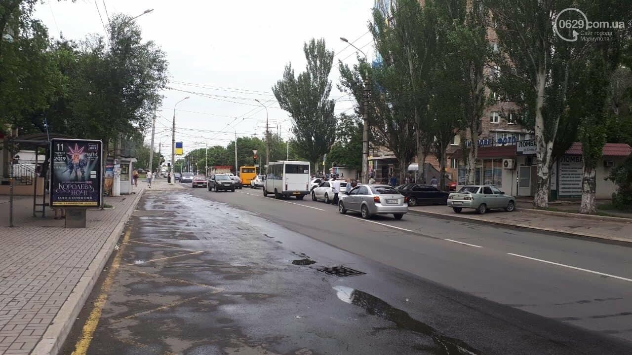 "В Мариуполе маршрутка врезалась в ""Ауди"", - ФОТО, ДОПОЛНЕНО, фото-7"