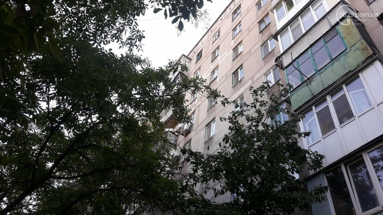В Мариуполе пожилая женщина выпрыгнула с 9 этажа, - ФОТО, фото-1