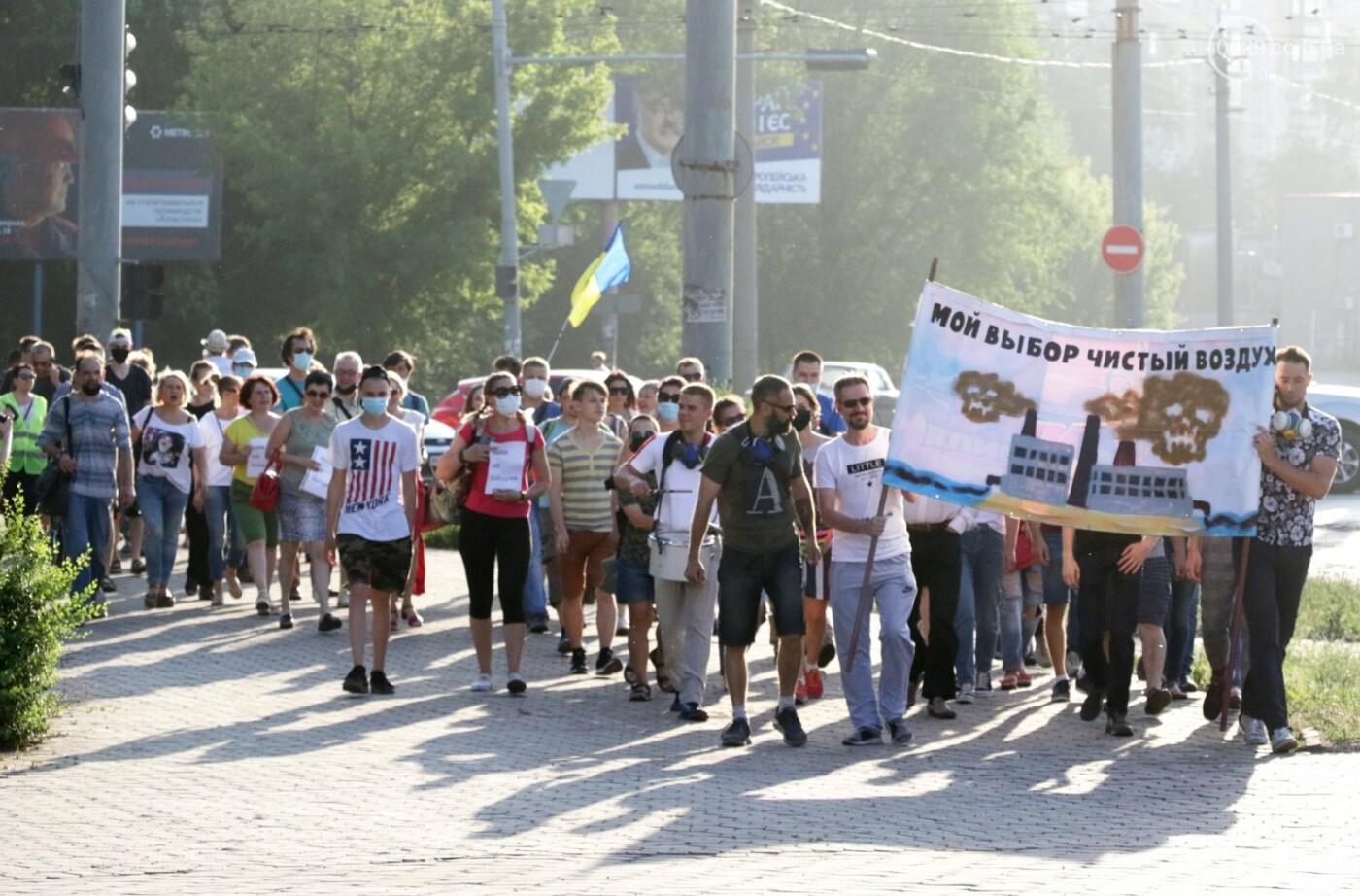 """""""Моя юность прошла на Донбассе Ахметова..."""" В Мариуполе горожане требовали чистый воздух, фото-2"""