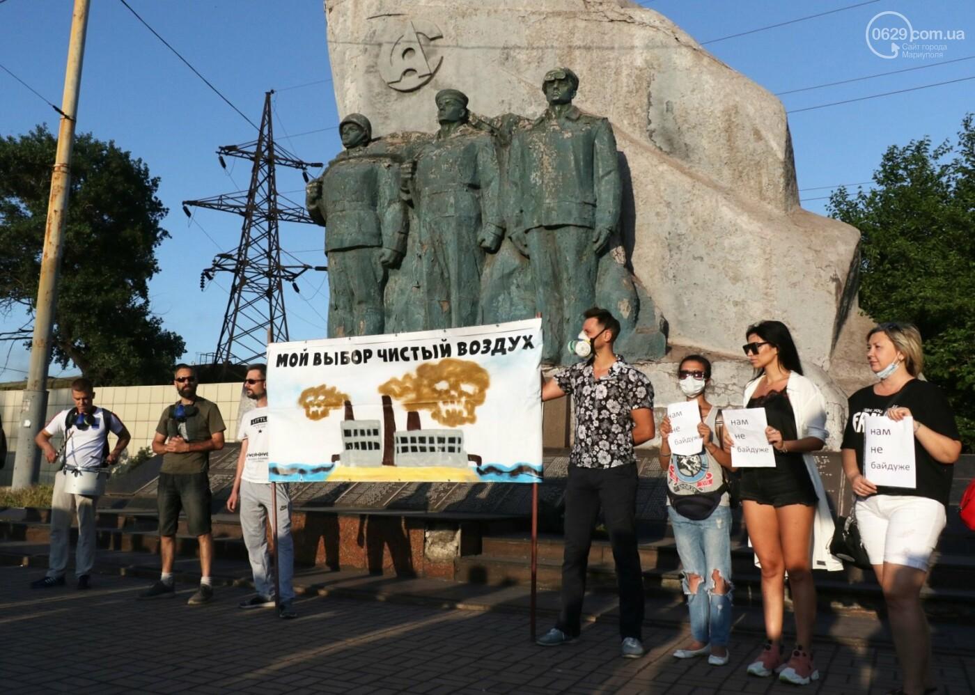 """""""Моя юность прошла на Донбассе Ахметова..."""" В Мариуполе горожане требовали чистый воздух, фото-8"""
