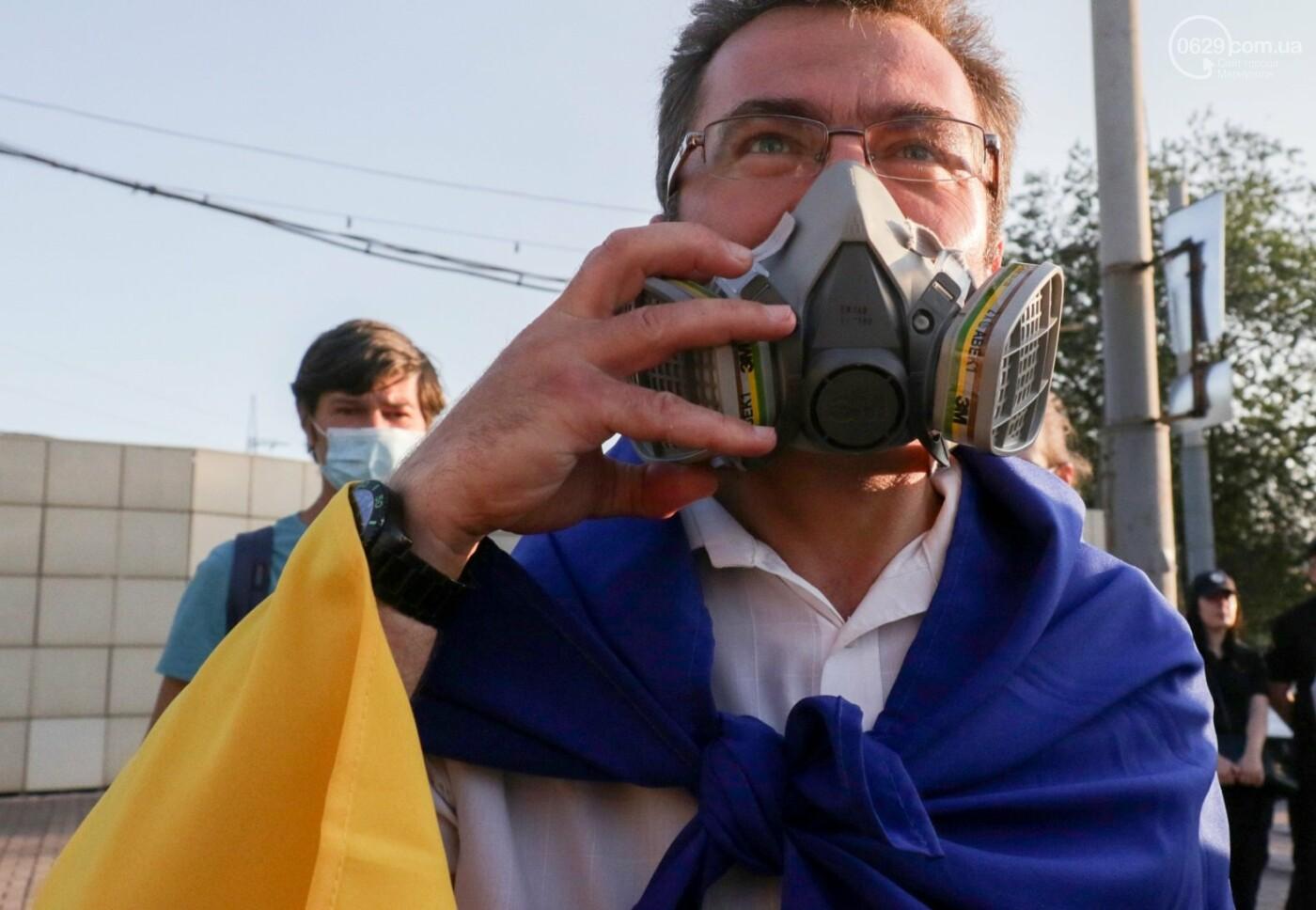 """""""Моя юность прошла на Донбассе Ахметова..."""" В Мариуполе горожане требовали чистый воздух, фото-13"""