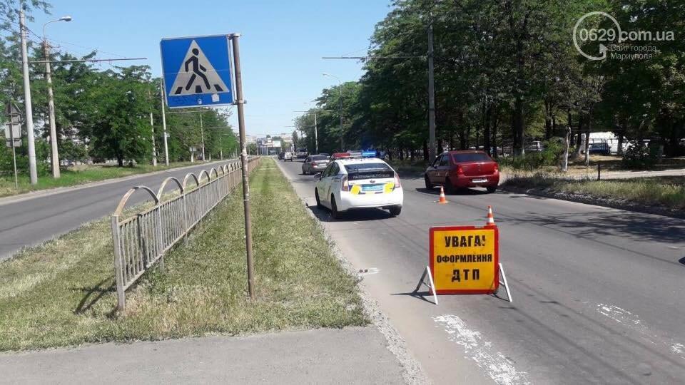 """В Мариуполе возле """"Порт Сity"""" автомобиль сбил женщину, - ФОТО, фото-5"""