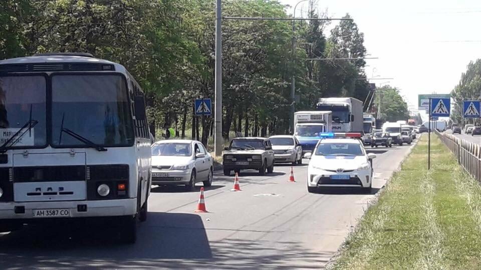 """В Мариуполе возле """"Порт Сity"""" автомобиль сбил женщину, - ФОТО, фото-7"""
