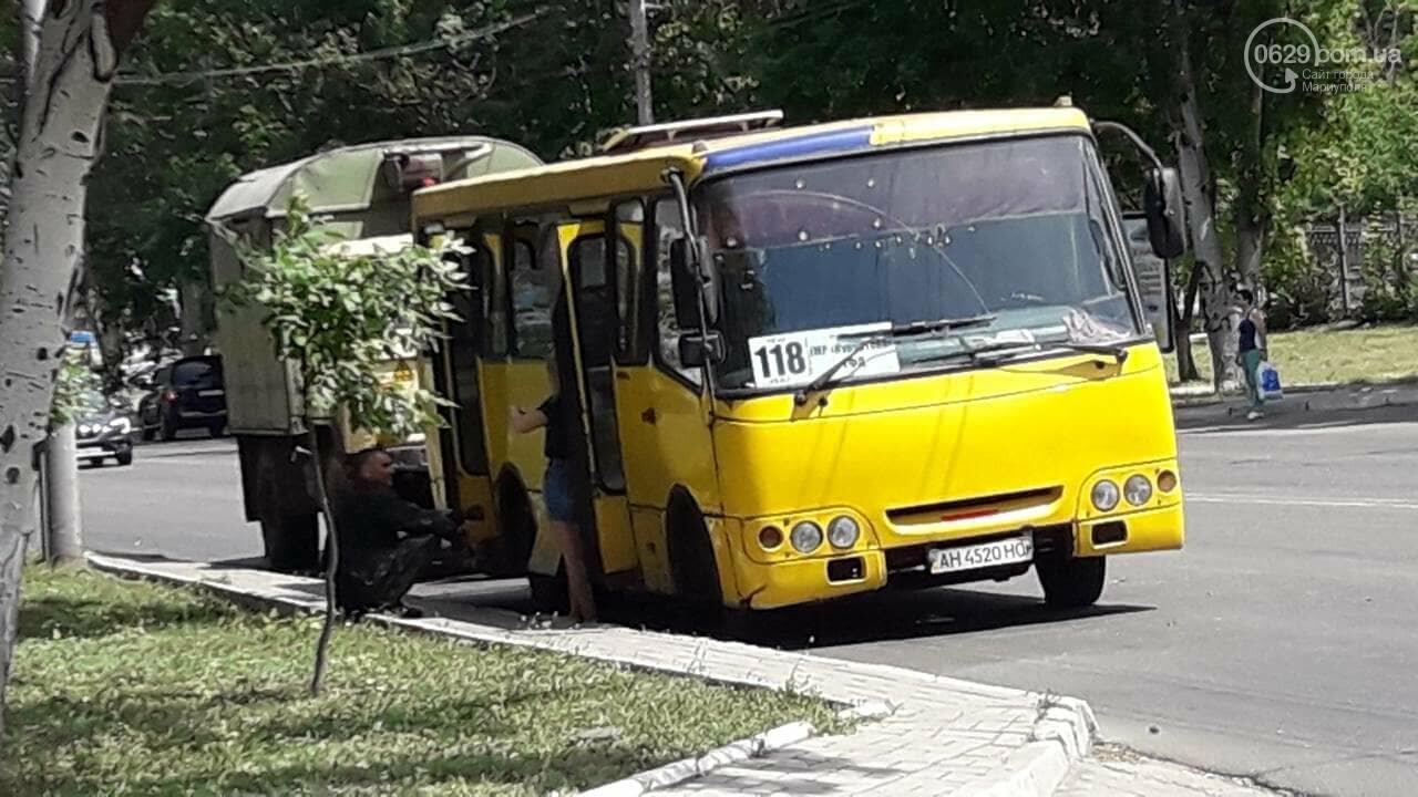 В Мариуполе маршрутка на ходу потеряла колеса, - ФОТО, фото-3