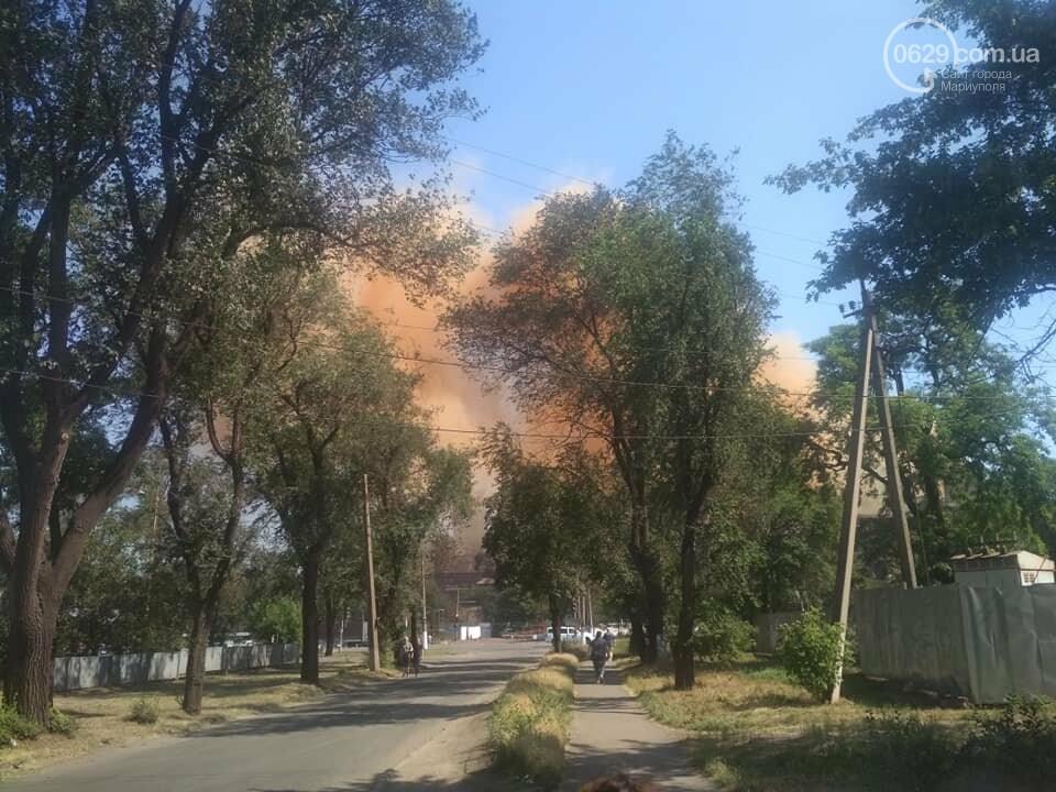 """Мариуполь накрыл оранжевый дым, который в Метинвесте назвали """"мелочью"""",- ФОТО, фото-1"""