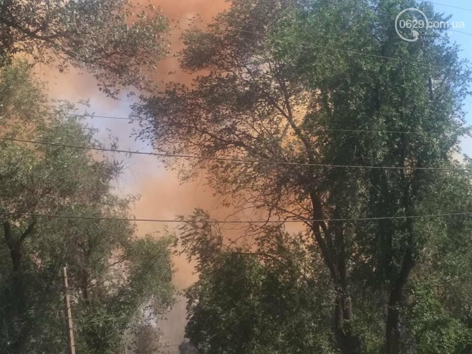 """Мариуполь накрыл оранжевый дым, который в Метинвесте назвали """"мелочью"""",- ФОТО, фото-2"""