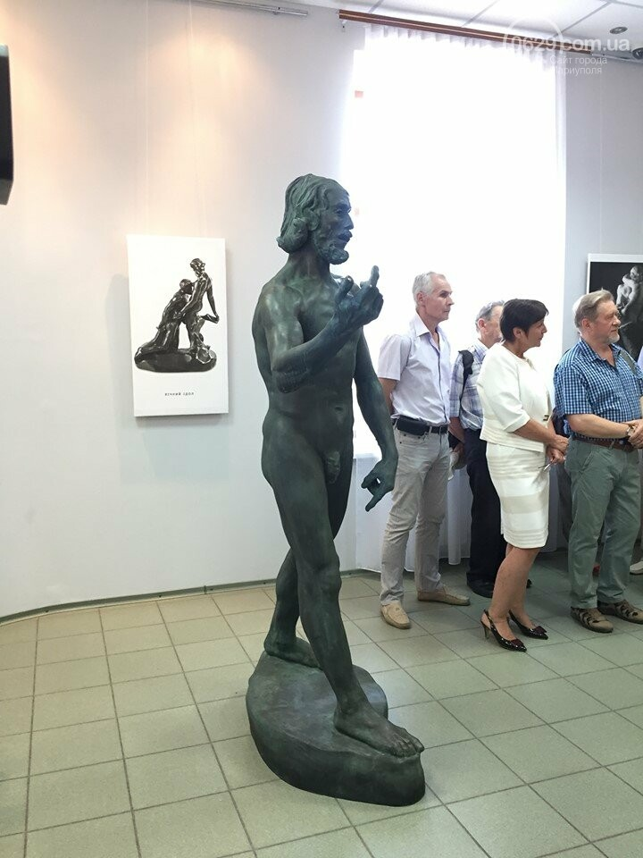 """В Мариуполе теперь можно увидеть реплику скульптуры Родена """"Иоан Креститель"""", - ФОТО, ВИДЕО, фото-1"""