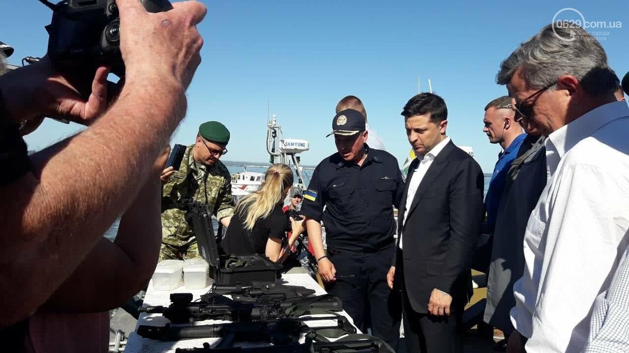 Президент увидел, как в мариупольский порт зашли контрабандисты, -ФОТО, ВИДЕО, фото-7