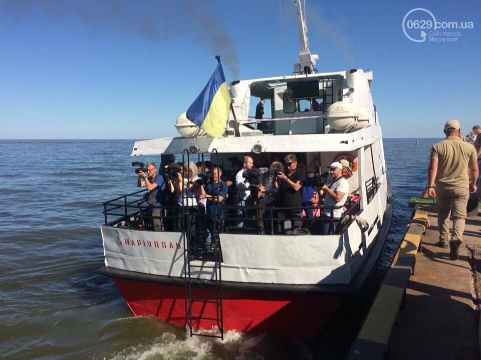 Президент увидел, как в мариупольский порт зашли контрабандисты, -ФОТО, ВИДЕО, фото-14