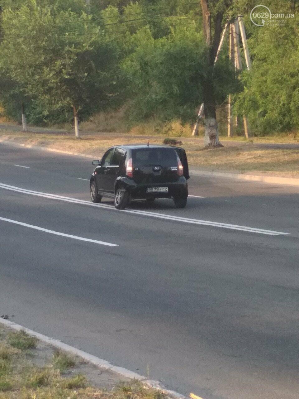 В Мариуполе иномарка столкнулась с такси, - ФОТО, фото-3