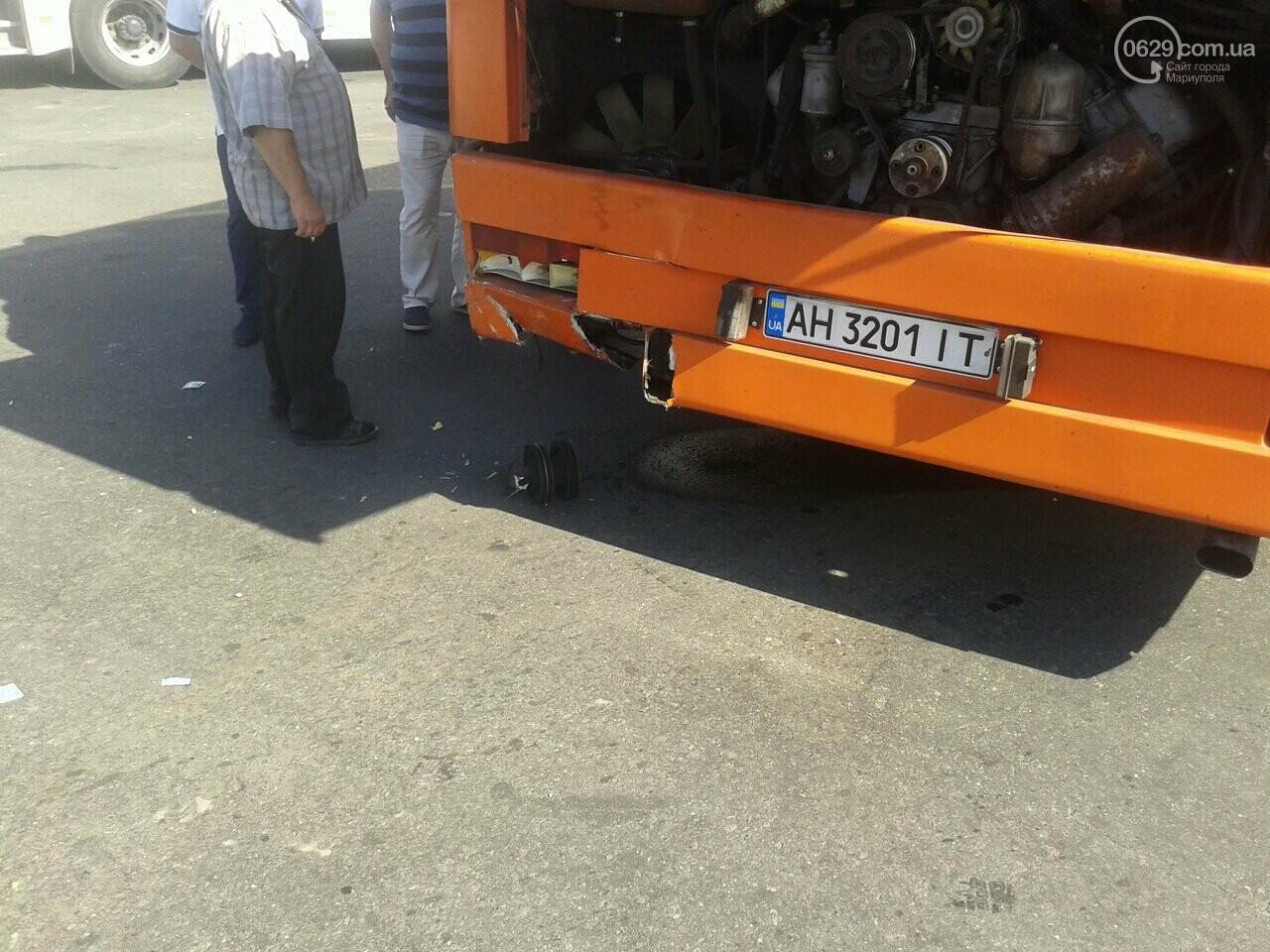 """В Мариуполе пьяный водитель """"Дэу"""" врезался в автобус, - ФОТО, фото-4"""