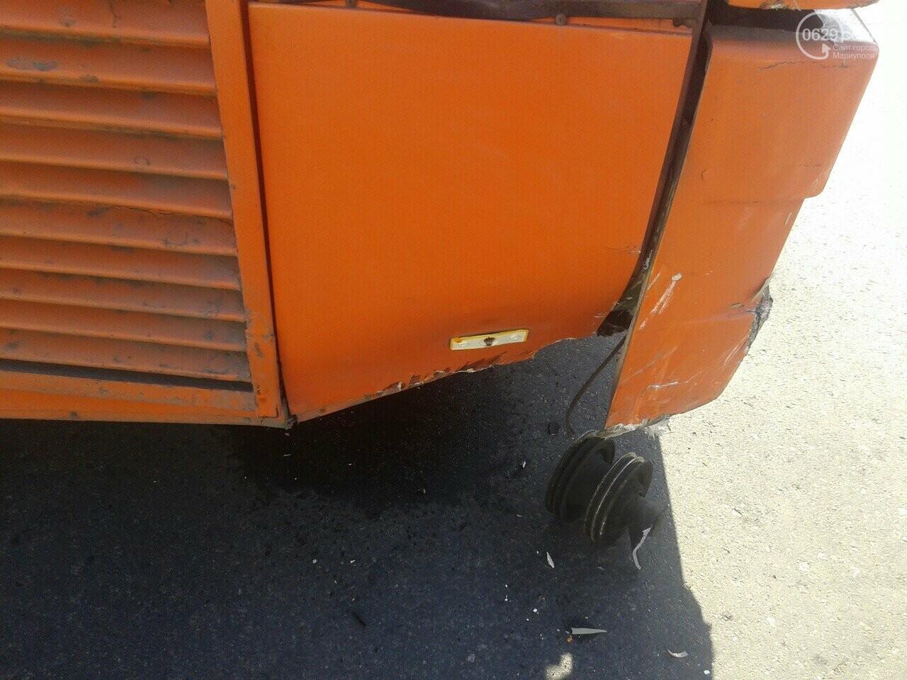 """В Мариуполе пьяный водитель """"Дэу"""" врезался в автобус, - ФОТО, фото-8"""