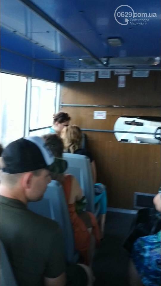 Мариупольчанка-меломанка набросилась на пассажира маршрутного такси, - ФОТО, ВИДЕО 18+, фото-1